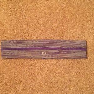 Purple Lululemon Headband